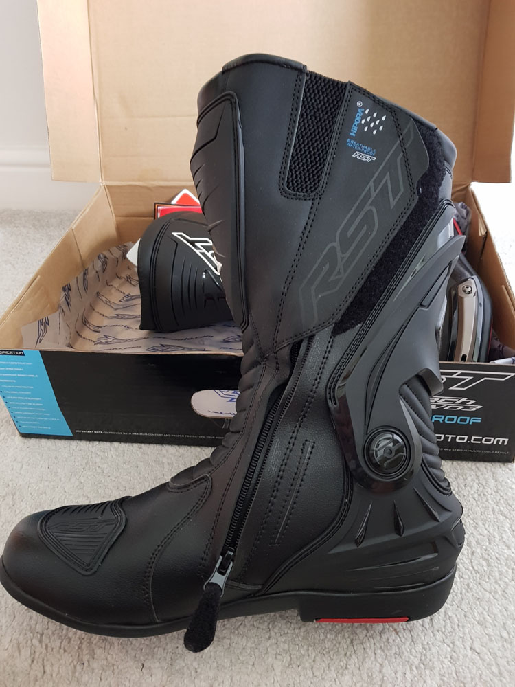 RST Tractech Evo 3 Boots Left Side