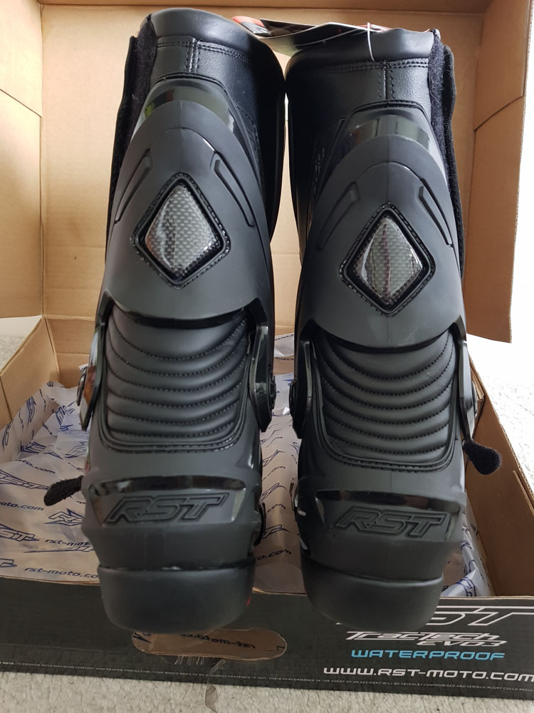 RST Tractech Evo 3 Waterproof Boots Rear