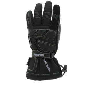 Richa Carbon Winter Waterproof Gloves Knuckle