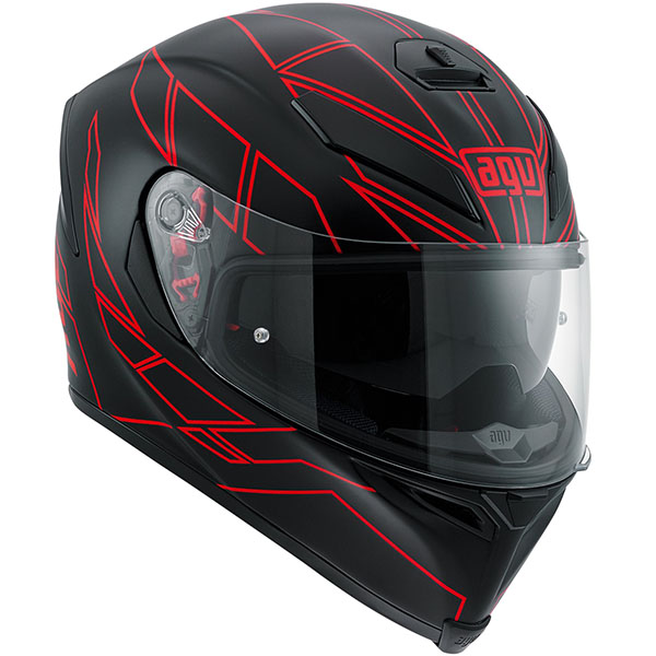AGV K5-S Helmet Hero Red