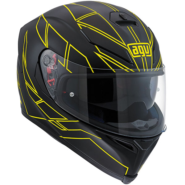 AGV K5-S Helmet Hero Yellow