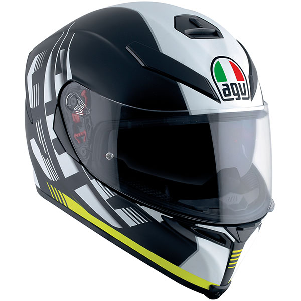 AGV K5-S Helmet Dark Storm Yellow