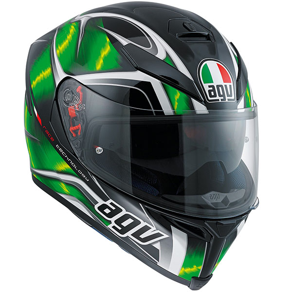 AGV K5S Helmet Hurricane Green