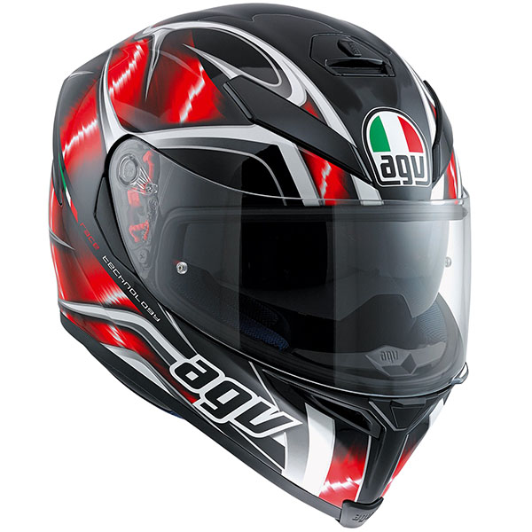AGV K5-S Helmet Hurricane red