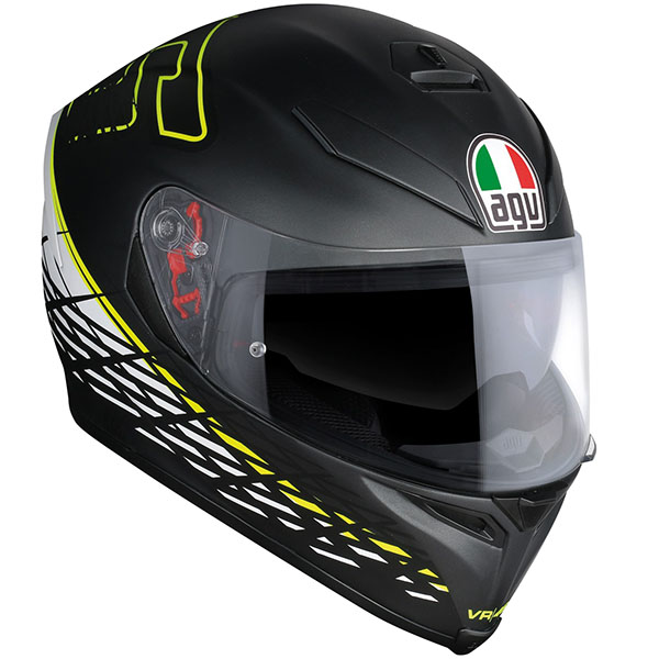 AGV K5-S Helmet Thorn Black Yellow