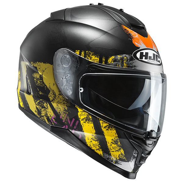 Shapy Yellow HJC IS-17 Helmet