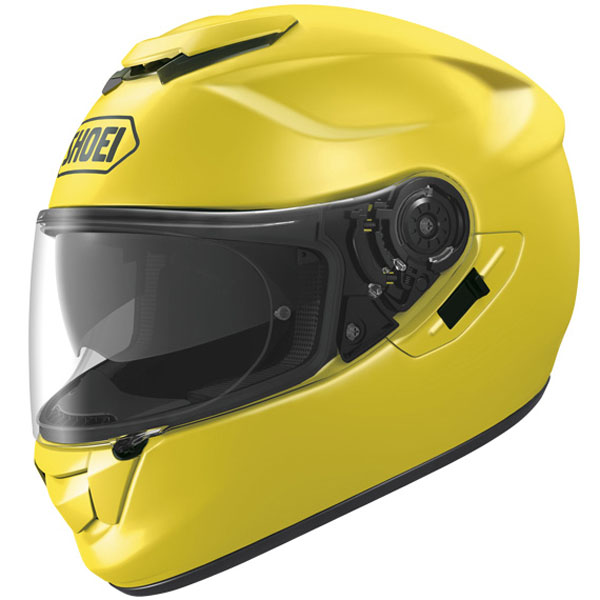 Brilliant Yellow Shoei GT Air Helmet