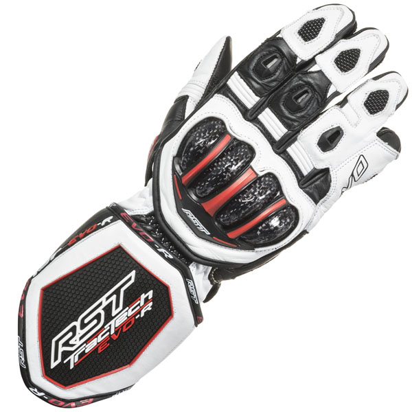 RST Tractech Evo R Gloves - White