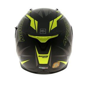 Nolan N87 rear of helmet