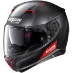 Nolan N87 Flat black red