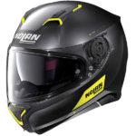 Nolan N87 flat black yellow