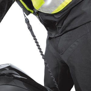 helite air vest attached to bike